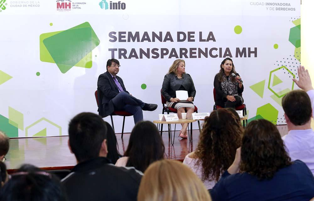 JORNADA POR LA TRANSPARENCIA MIGUEL HIDALGO