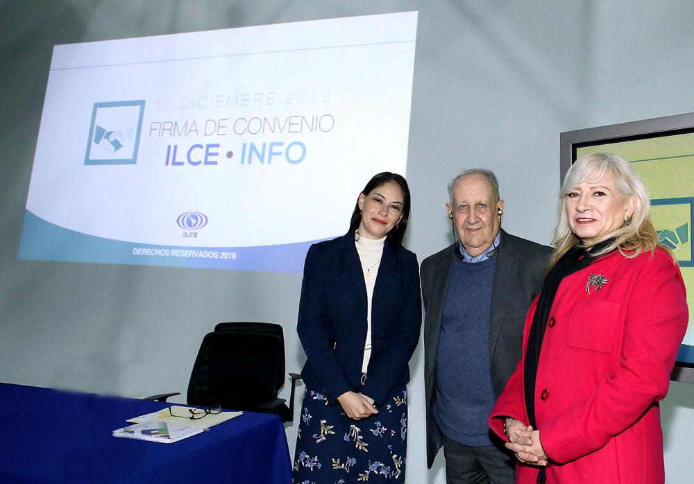FIRMA DE CONVENIO INFO-ILCE