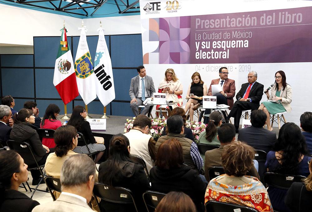 LIBRO LA CDMX Y SU ESQUEMA ELECTORAL