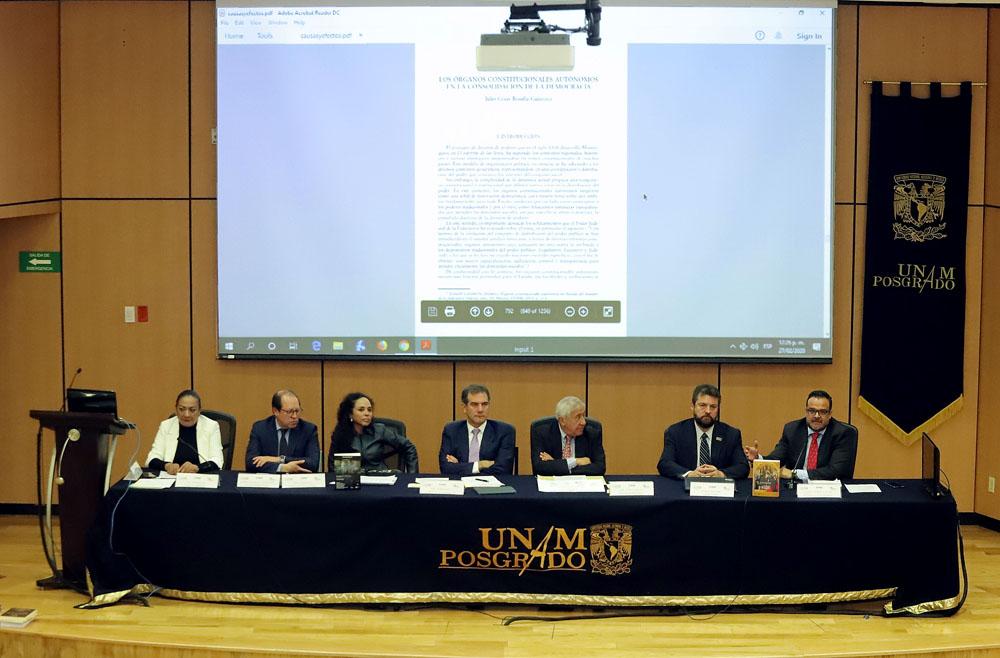 PRESENTACIÓN LIBRO UNAM
