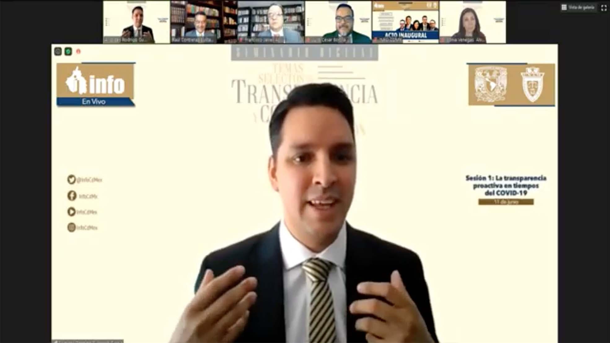 EVENTO TRANSPARENCIA VS CORRUPCIÓN 110620