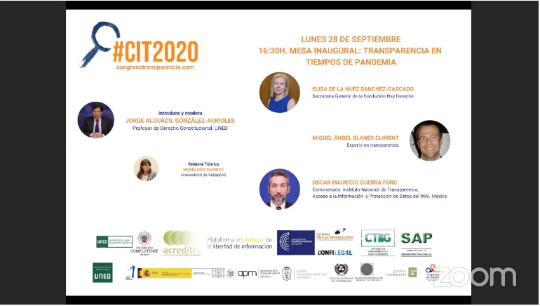 5 congreso transparencia España 280920