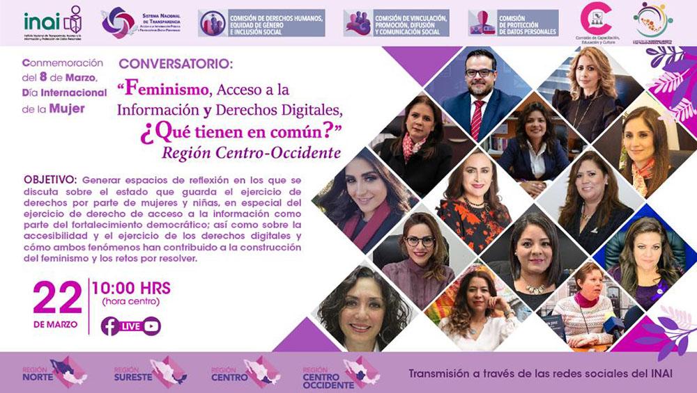 CONVERSATORIO FEMINISMO ACCESO A LA INFORMACIÓN Y DERECHOS DIGITALES 220321