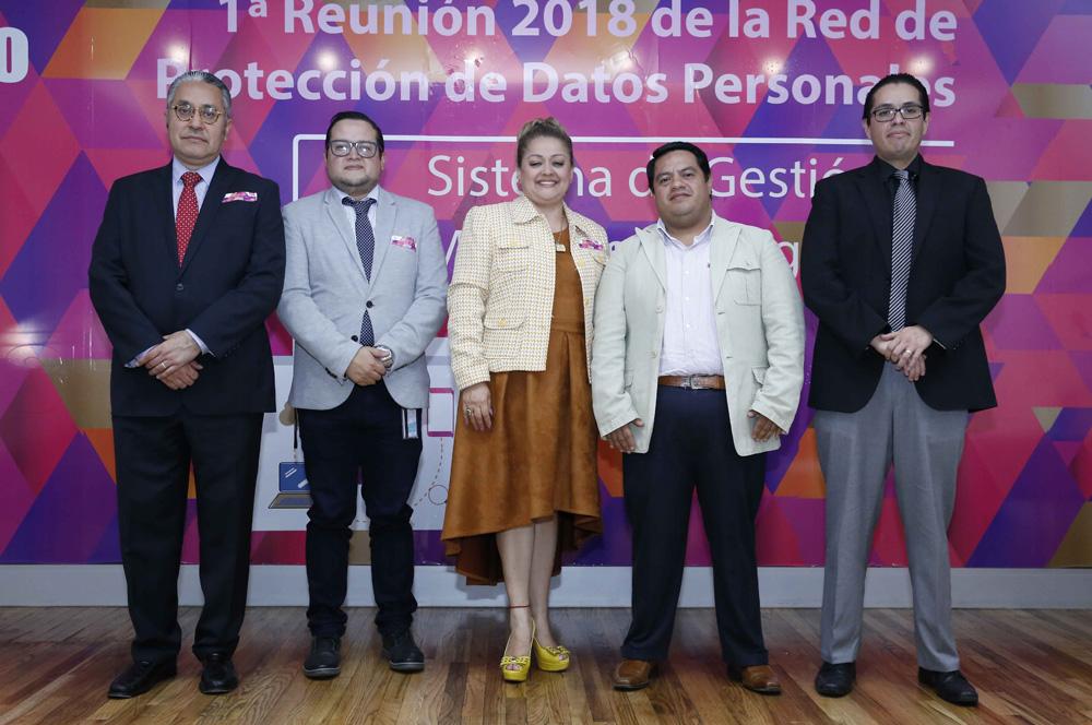 1a REUNIÓN DE LA RED DE  DATOS PERSONALES 071118