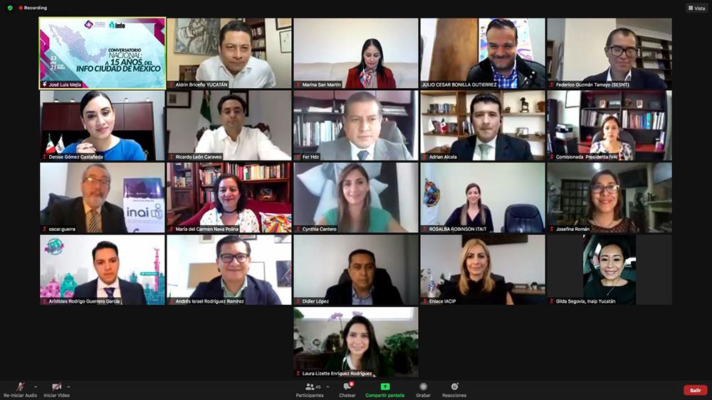 CONVERSATORIO NACIONAL A 15 AÑOS DEL INFOCDMX 130421