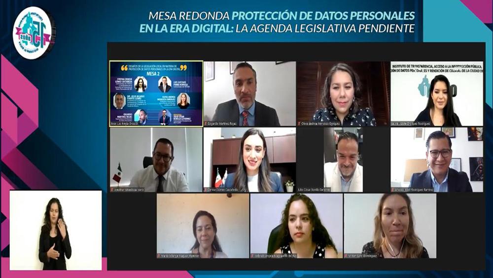 MESA REDONDA PROTECCIÓN DE DATOS PERSONALES EN LA ERA DIGITAL 160421