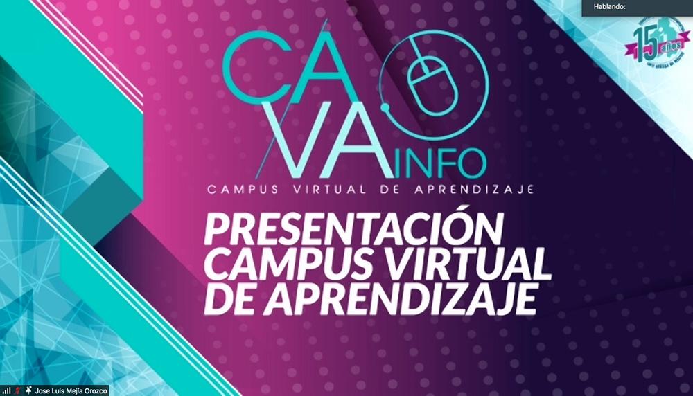 PRESENTACIÓN DEL CAMPO VIRTUAL CAVA 130421