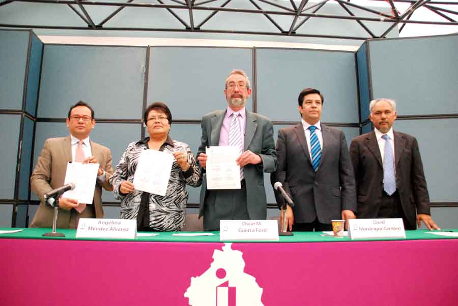 Convenio de Colaboración Del. Tlahuac -InfoDF