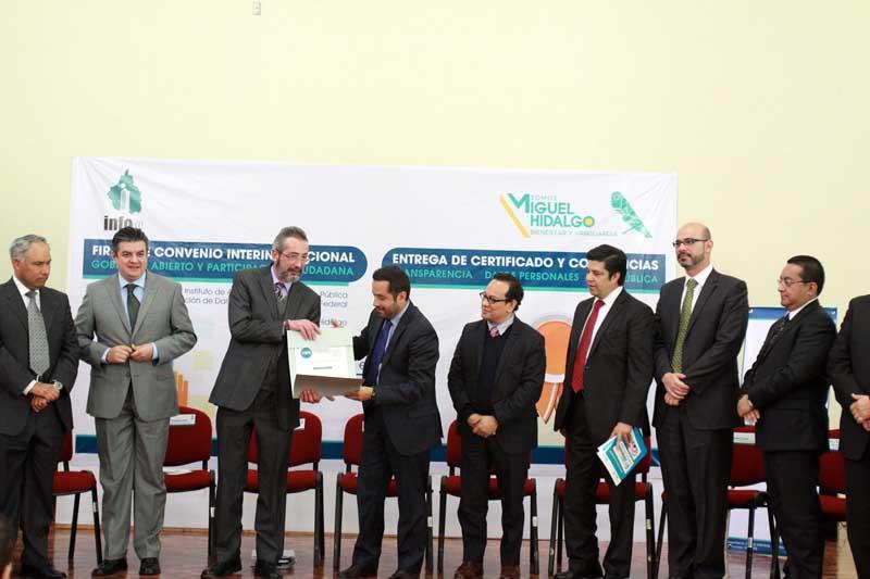 InfoDF certifica a Miguel Hidalgo en capacitación