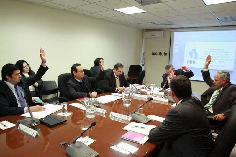 Primera Sesión Extraordinaria del Pleno del INFODF