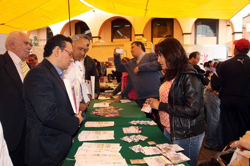 Feria de la Transparencia en la Delegación Magdalena Contreras