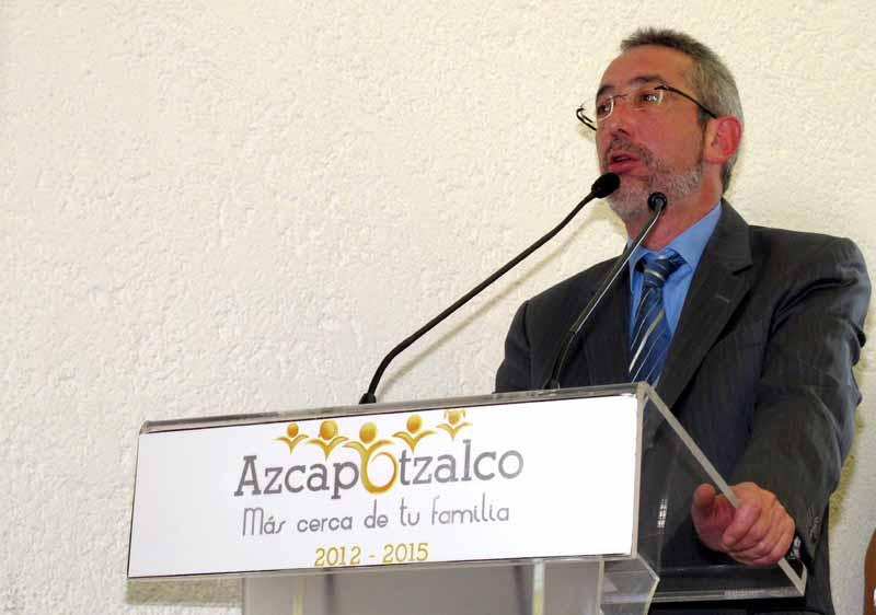 Inauguración Feria de la Transparencia Delegación Azcapotzalco