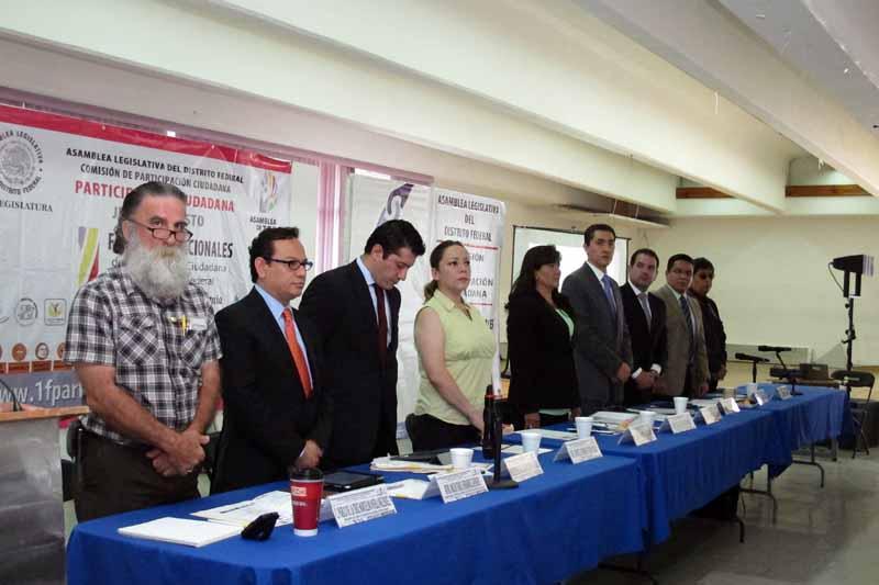 Reunión de Trabajo Delegación Benito Juárez