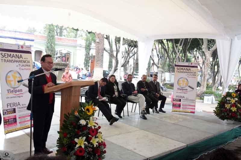 Semana de  la Transparencia 2, Tlalpan