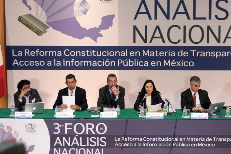 Tercer Foro Nacional Reforma Constitucional en Transparencia