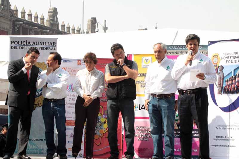 Feria de la Transparencia en la Delegación Cuauhtémoc