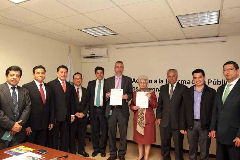 Firma Convenio Instituto de Transparencia de Tabasco