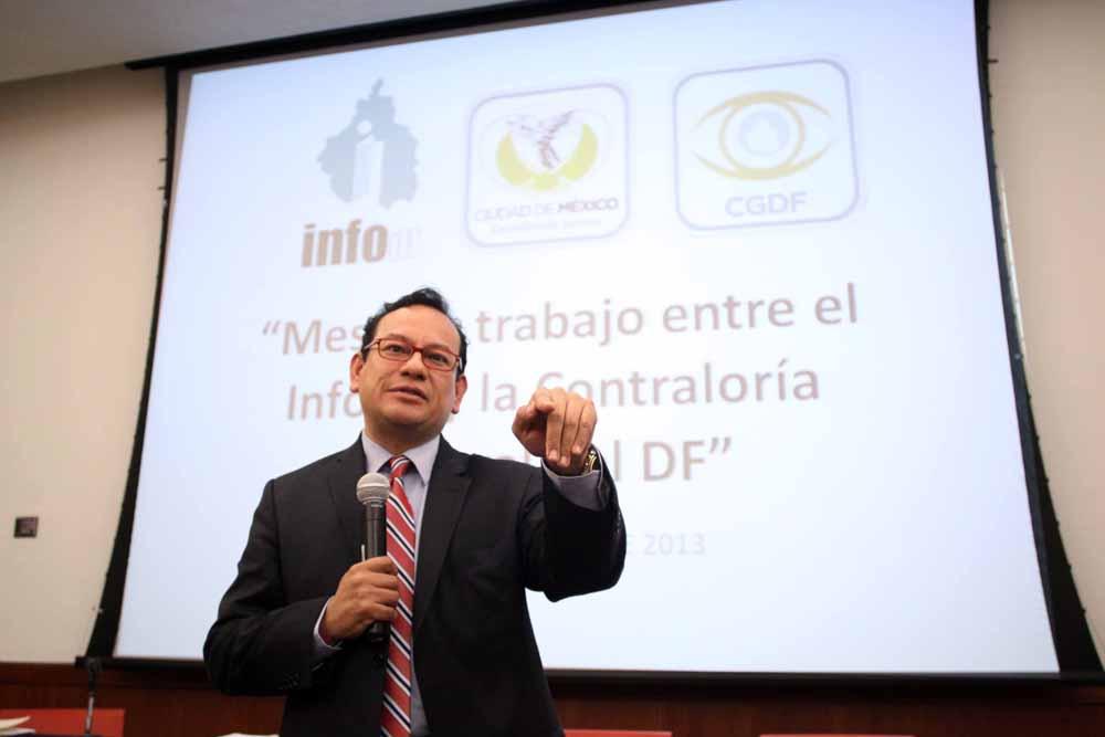 Contraloría del DF e InfoDF