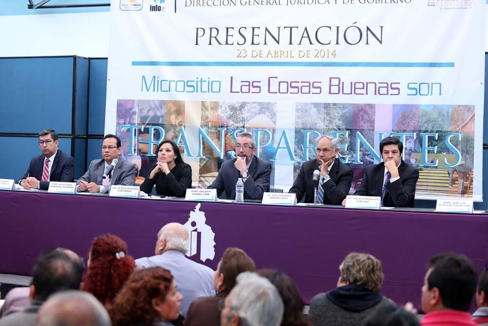 Micrositio Magdalena Contreras abril 2014