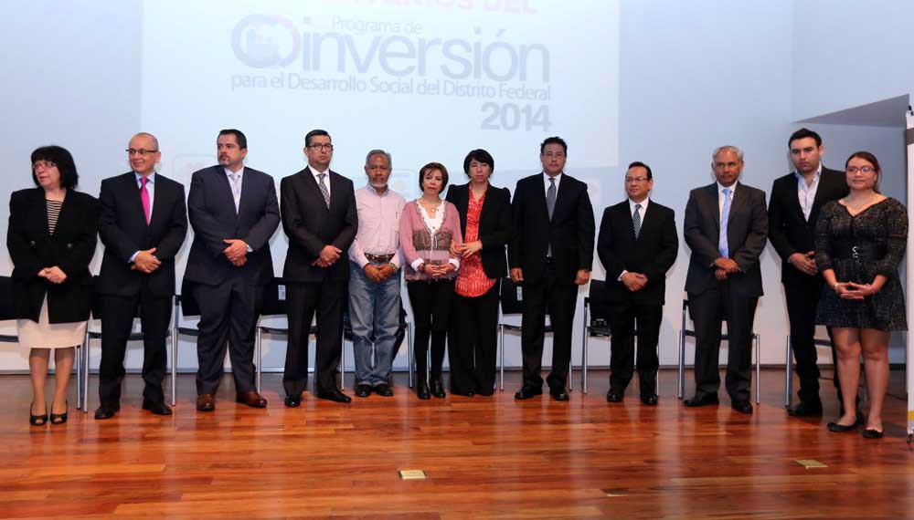 Firma de Convenio del Programa de Coinversión para el Desarrollo Social del D.F.