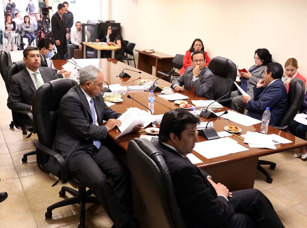 Sesión del Pleno 270814