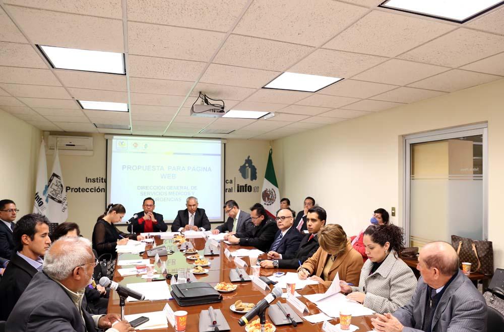 Mesa de Diálogo con Funcionarios de la SSP