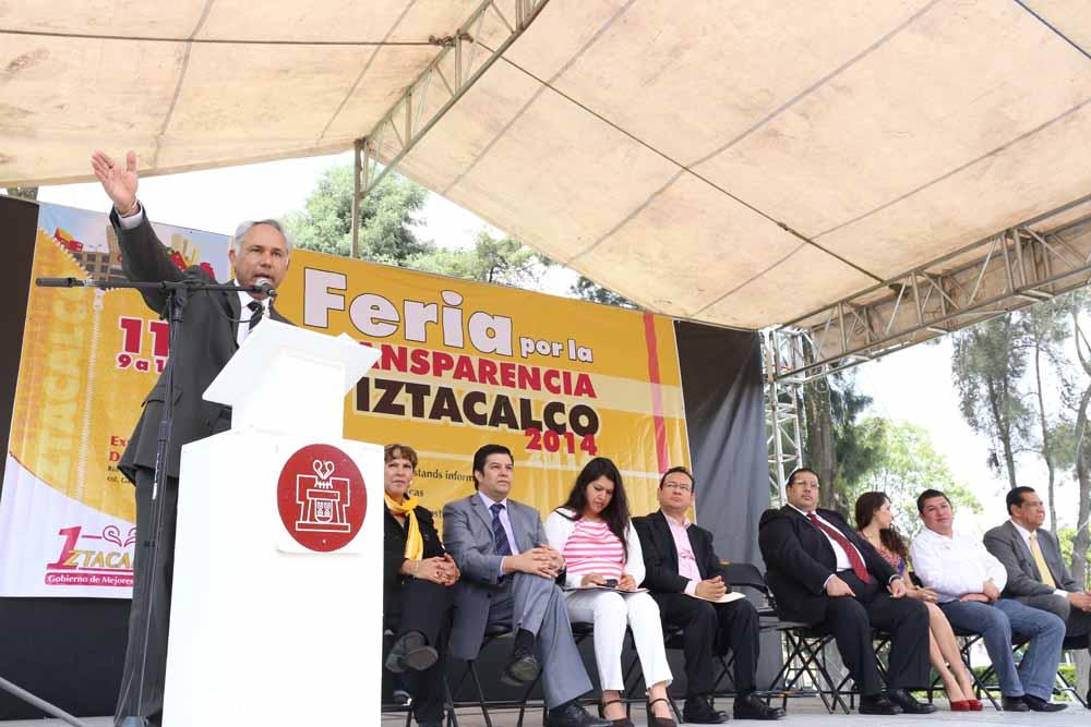 Segunda Feria de la Transparencia Iztacalco