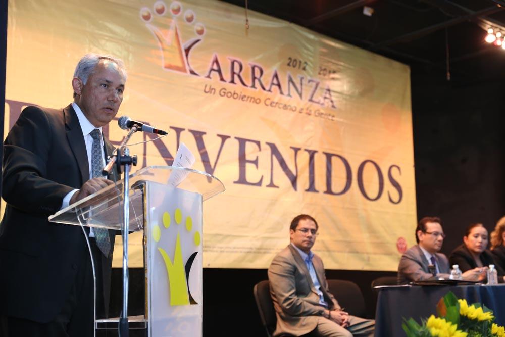 Conferencia Magistral en Venustiano Carranza