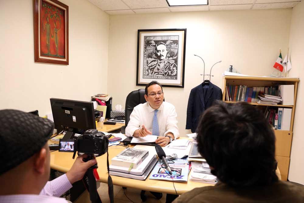 Entrevista CC Mucio Israel