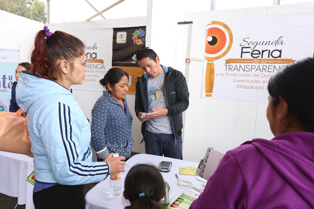 Feria de la Transparencia en la Delegación Iztapalapa
