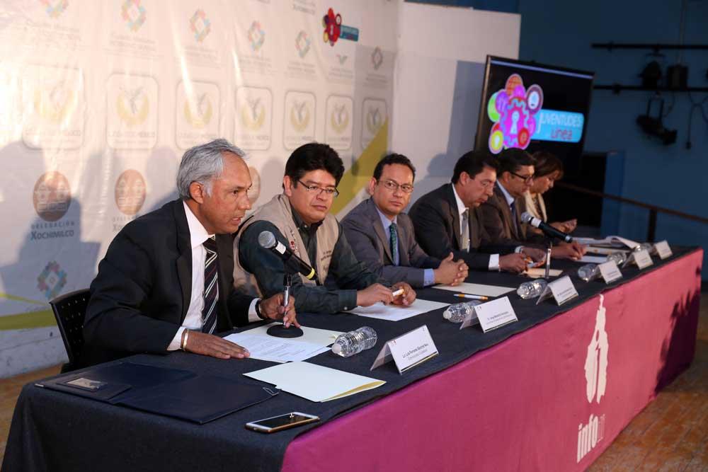 Presentación Programa Juventudes en Línea Delegación Xochimilco