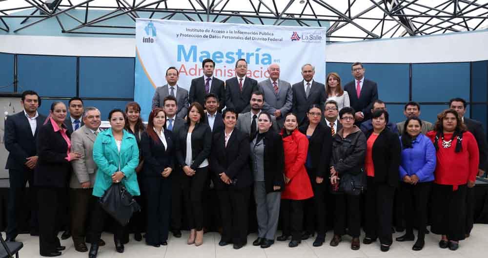 Inauguración Maestría en Administración