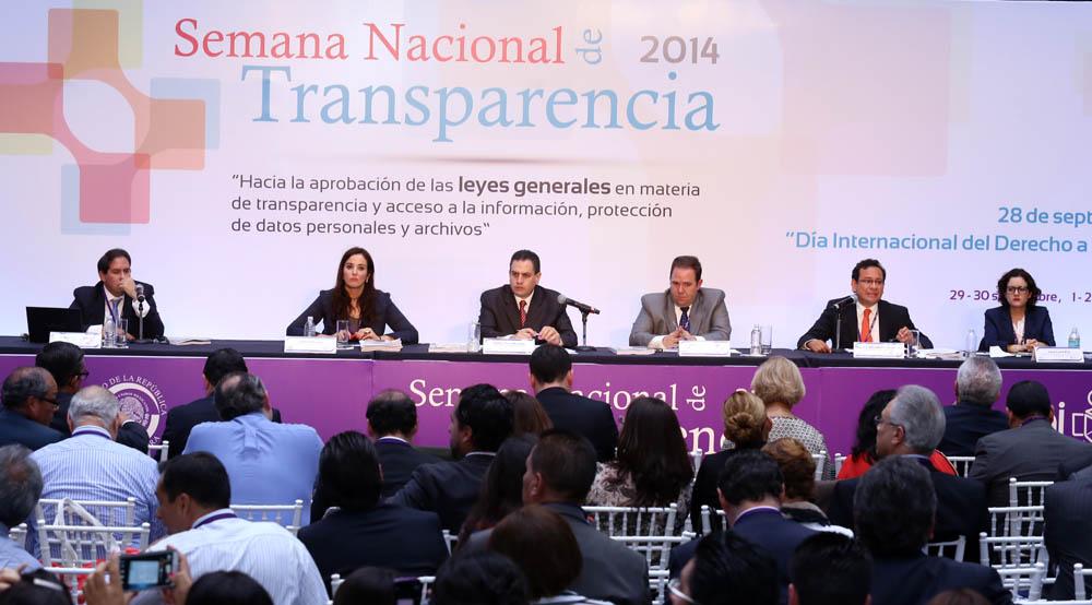 SEMANA NACIONAL DE TRANSPARENCIA 2014