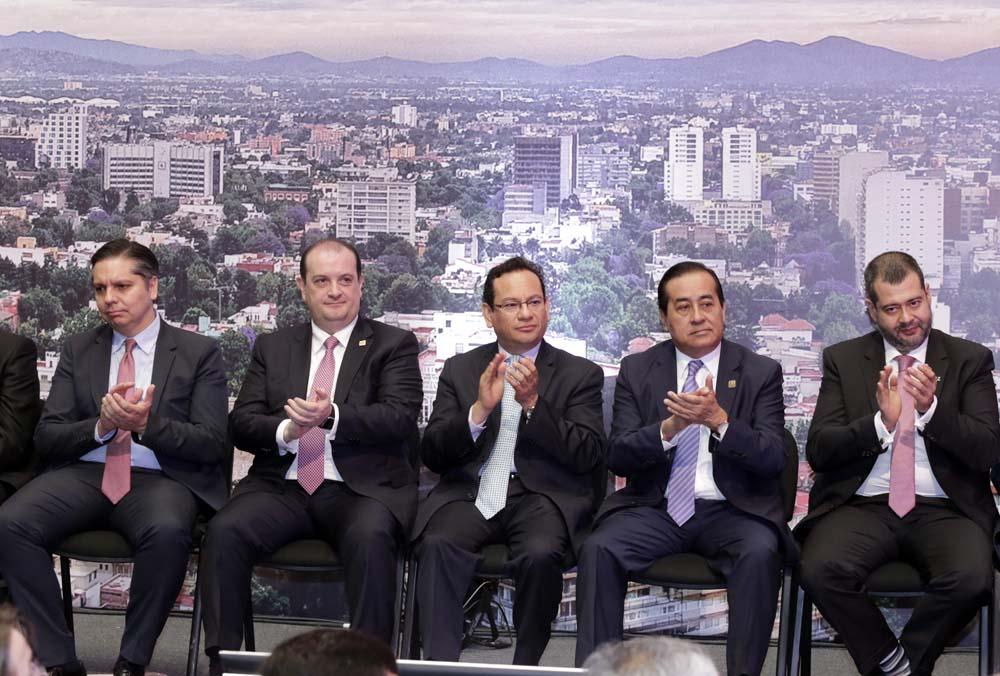 PARTICIPACIÓN DE LOS COMISIONADOS CIUDADANOS DEL INFODF EN LA PRESENTACIÓN DE LAS  ESTRATEGIAS DE PREVENCIÓN CONTRA LA CORRUPCIÓN EN LA CIUDAD DE MÉXICO