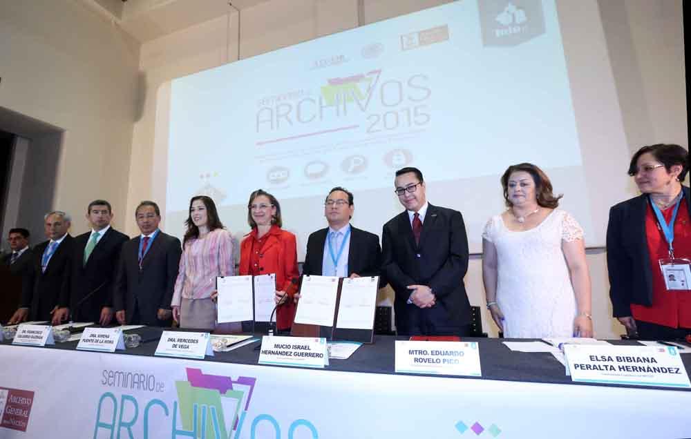 ACTIVIDADES DEL PRIMER SEMINARIO DE ARCHIVOS 2015