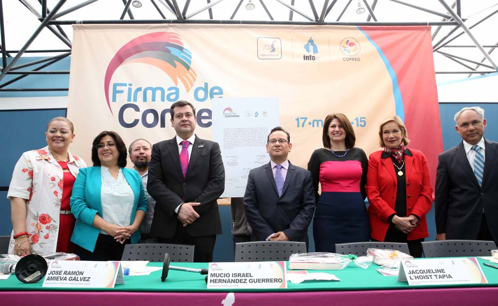 FIRMA DE CONVENIO INMUJERES-COPRED