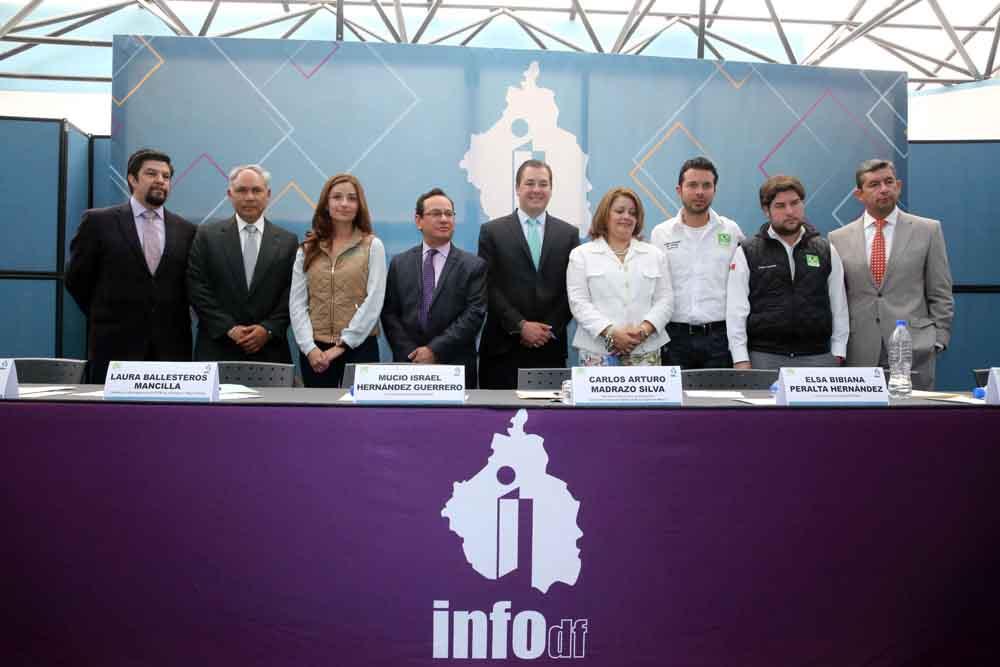 "PRESENTACION DEL MICROSITIO ""TRANSPARENCIA 2015: PARTIDO VERDE ECOLOGISTA DE MEXICO"""