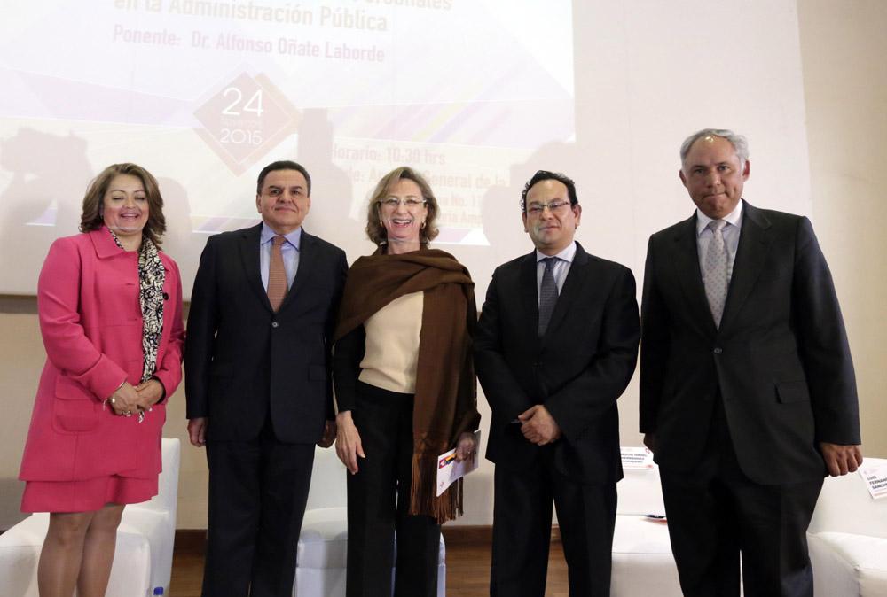Clausura del Ciclo de Conferencias Jurídicas en materia de Transparencia y protección de Datos Personales