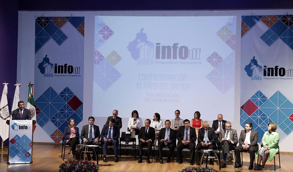 10 Años INFODF 170316